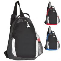 Monostrap Rucksack with Earphone Port